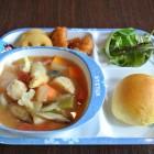 つくねと野菜のトマトスープ