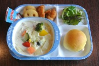 野菜とコーンのクリームスープ