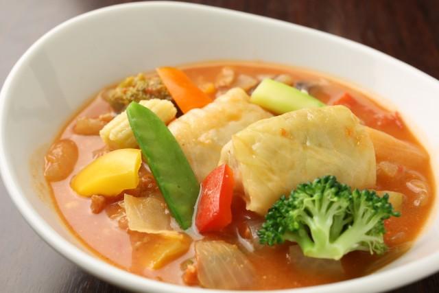 ロールキャベツのトマトスープ2